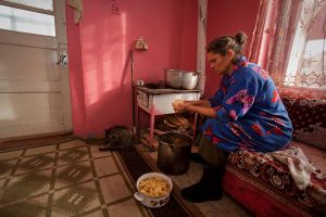 Soup is a staple for most Roma families